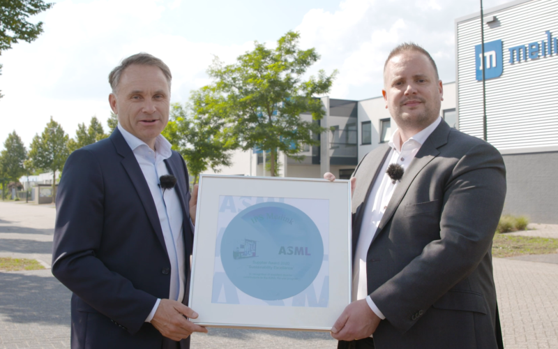 Meilink en IPS Technology winnen ASML Supplier Award!