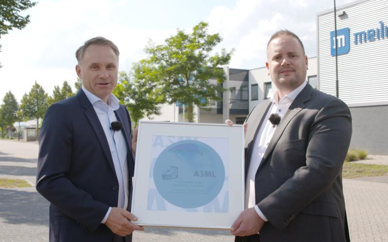 Meilink en IPS Technology winnen ASML Supplier Award!